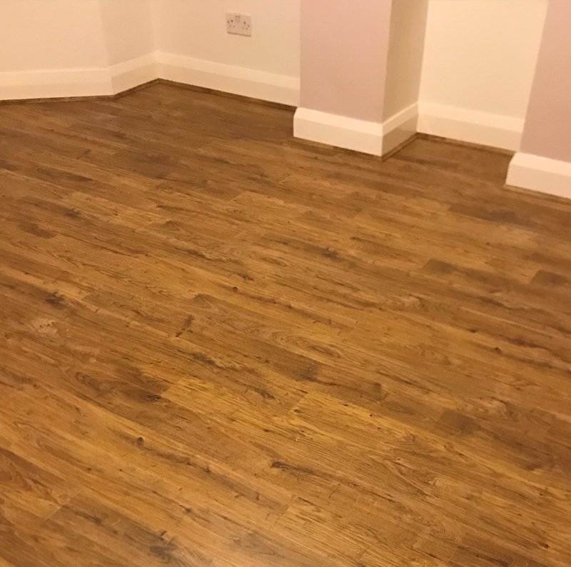 View our work for Laminate flooring company